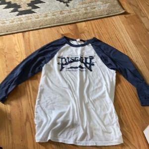 Pisgah brewing company baseball 3/4 t-shirt
